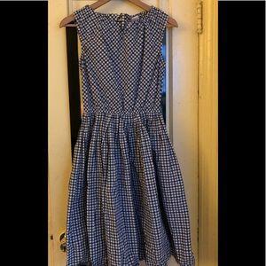 A.DOR.A.BLE Gingham Dress with Full Skirt